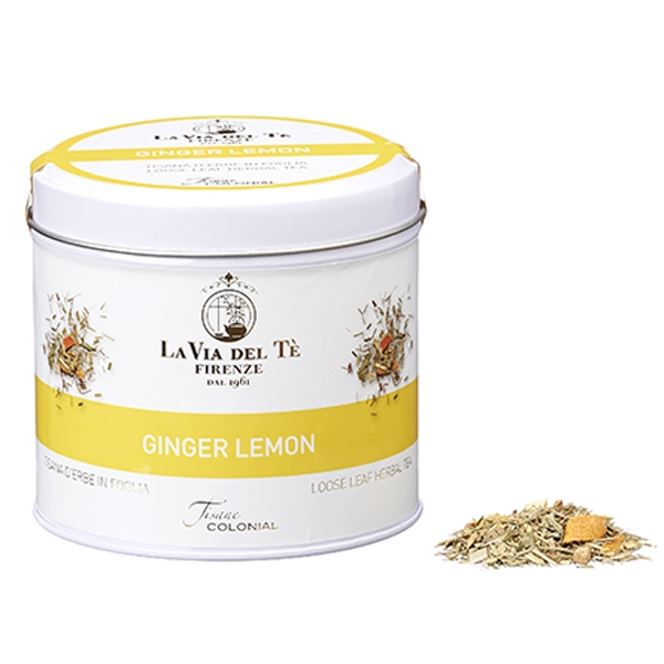 Tisana Ginger Lemon in Latta Sfuso